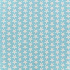 Cotton fabric Monroe - turquoise x 10cm