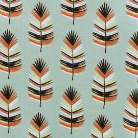 Cotton fabric Cazeneg - light khaki x 14cm