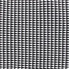 Cotton fabric Kano - black x 10cm