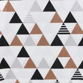 Cotton fabric Enoki - copper x 10cm