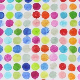 Tissu toile coton Fantasia (280cm) - circle x 10cm