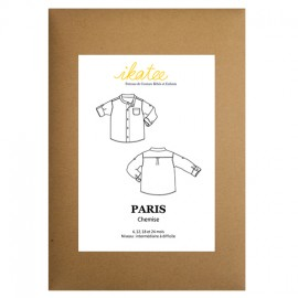 Patron Ikatee Paris chemise 6 -24 mois