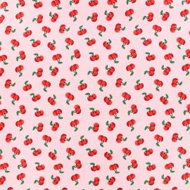 Poppy cotton fabric Cherry blossom - pink x 10cm