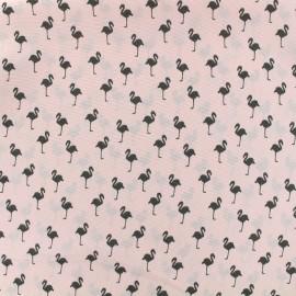 Satin Fabric Flamingo by Penelope® - pink x 10cm