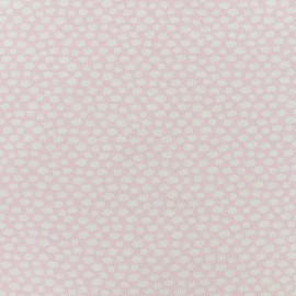 Poppy jersey fabric  little clouds - pink x 10cm