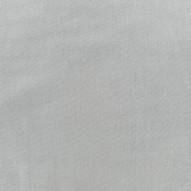 Tissu double gaze de coton Soft Touch - grey x 10cm