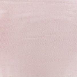 Tissu double gaze de coton Soft Touch - pink x 10cm