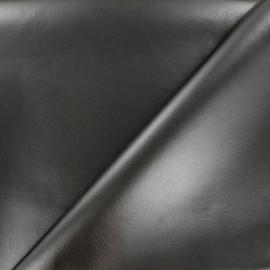 Simili cuir souple nacré - gris x 10cm