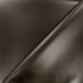 Simili cuir souple nacré - bronze x 10cm