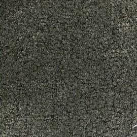 Tissu Lainage bouclette irisé - vert  x 10cm