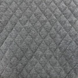 Tissu doublure matelassé chiné - gris x 10cm