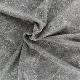 Iridescent Stitch Fabric - taupe x 10cm