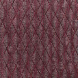 Tissu jersey matelassé Polo - rouge x 10cm