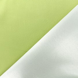 Tissu jacquard réversible Goldy - pomme x 10cm