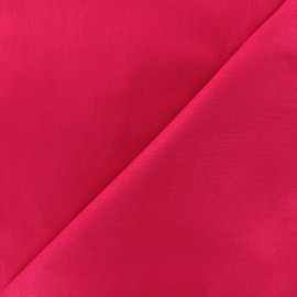 Tissu coton uni Reverie grande largeur (280 cm) - fuchsia x 10cm