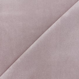 Suede elastane fabric Soft - old pink x 10cm
