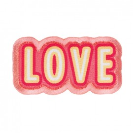 Iron on patch and sticker Funky -  Love