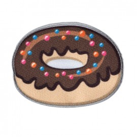 Iron on patch and sticker Funky - Donut