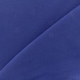 Coat wool fabric - royal blue x 10cm