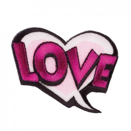 Iron on patch and sticker Funky - BD Love