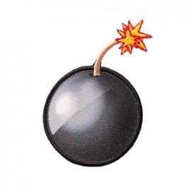 Iron on patch and sticker Emoji™ - Bomb