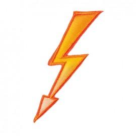 Iron on patch and sticker Emoji™ - Lightning
