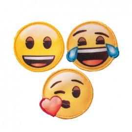 Iron on patch and sticker Emoji™ - Emoticons x3