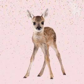 Sweat fabric panel - Bambi 70 cm x 140 cm
