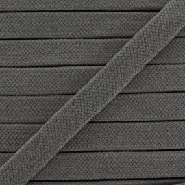 Tubular Cord - dark grey x 1m