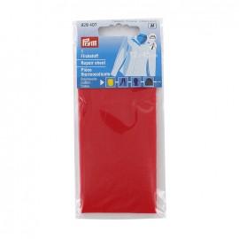 Repair sheet Prym for cotton - red