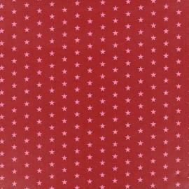 Coated cotton fabric Froufrou stars - éclatant x 10cm