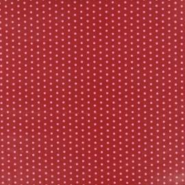 Coated cotton fabric Froufrou dot - éclatant x 10cm