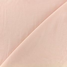 Tissu viscose chemisier - rose camay x 10cm