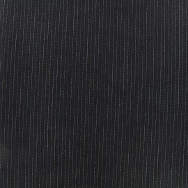 Tissu tailleur mini rayures - Léon x 10cm