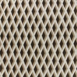 Satin Fabric Royal micro satin by Penelope® - brown x 10cm
