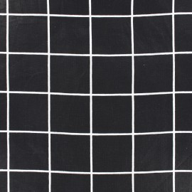 Cotton fabric Graphic black - square x 10cm