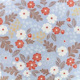 Tissu enduit coton Daily Like - Cosmos x 10cm