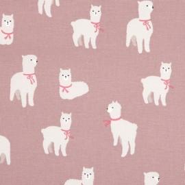 Tissu toile coton Daily Like - Alpaca x 20cm