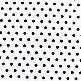 Tissu toile coton Daily Like - Anemone dot x 10cm