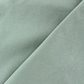 Tissu Popeline - bleu gris x 10cm