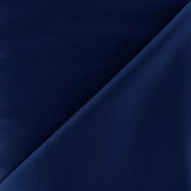 Tissu Popeline - bleu navy x 10cm
