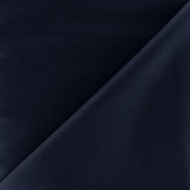 Tissu Popeline - bleu foncé x 10cm