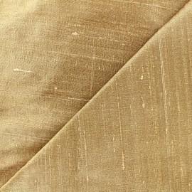 Wild Silk Fabric - light beige x 10cm