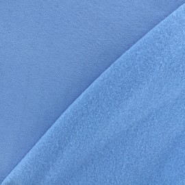 Sweat fabric - light blue lavender  x 10cm