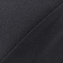 Tissu jersey crêpe - marine x 10cm