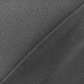 Tissu jersey crêpe - gris anthracite x 10cm