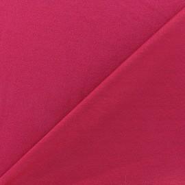 Tissu jersey crêpe - violine x 10cm