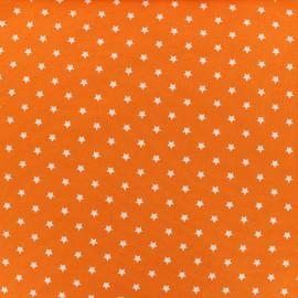 Tissu jersey Poppy Star Party - orange x 10cm