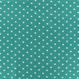 Tissu jersey Poppy Star Party - paon x 10cm