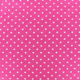 Tissu jersey Poppy Star Party - fuchsia x 10cm